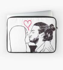 Kissing Laptop Sleeve