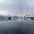 A winter wonderland over Derwentwater by Martin Lawrence