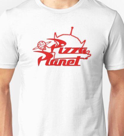 Pizza Planet! Ooooohhh! Unisex T-Shirt