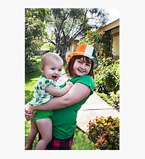 St. Paddy's Day Fun! Photographic Print