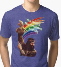 Jim Henson and Kermit Tri-blend T-Shirt