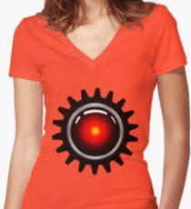 Clockwork Halex Women's Fitted V-Neck T-Shirt