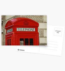 London Telephone Postcards