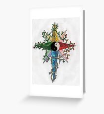 Balance and Harmony Greeting Card