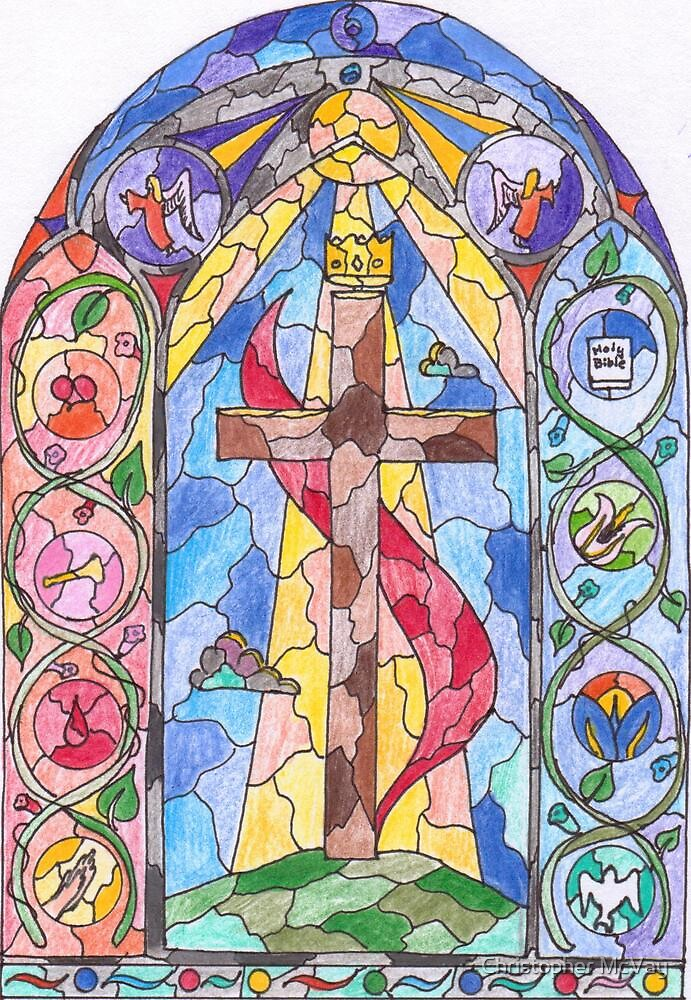 Variation of the Methodist Symbol by Christopher McVay