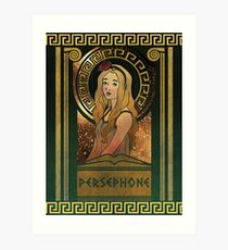 Olympia Heights: Persephone Art Print