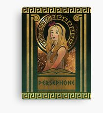 Olympia Heights: Persephone Canvas Print