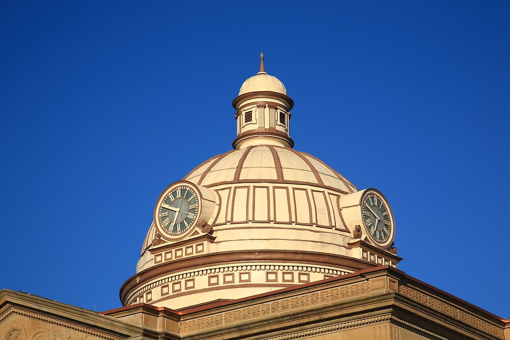 Lincoln, Illinois - Courthouse Dome by Frank Romeo