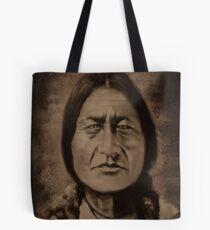 ✌☮ Ohkwari  Bear in Mohawk-Running Bear✌☮  Tote Bag