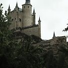Floating castle in the sky - Segovia Alcazar by CourtneyAnne82