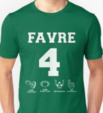 Brett Favre - Career Stats T-Shirt