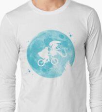 E.T. vs Aliens - transparent T-Shirt