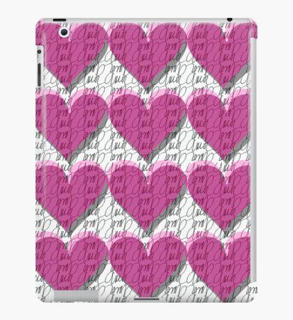 Love background I iPad Case/Skin