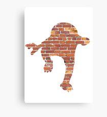 Hitmonlee used Hi Jump Kick Canvas Print
