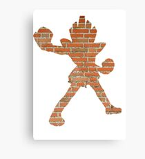 Hitmonchan used Mach Punch Canvas Print