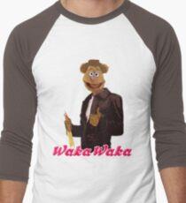 Fonzie Bear Waka Waka Men's Baseball ¾ T-Shirt