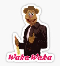 Fonzie Bear Waka Waka Sticker