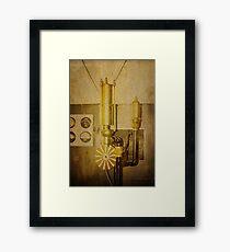 Old Time Machine Framed Print