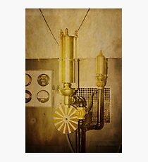 Old Time Machine Photographic Print