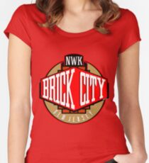 'Brick City West' Women's Fitted Scoop T-Shirt