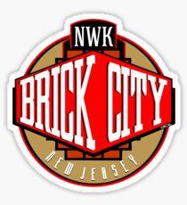 'Brick City West' Sticker