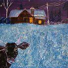 Moon Cow by Alexey Yarygin