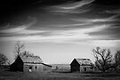 North Dakota Study in B&W V by Nate Welk