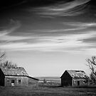 North Dakota Study in B&W V by Nate Welk