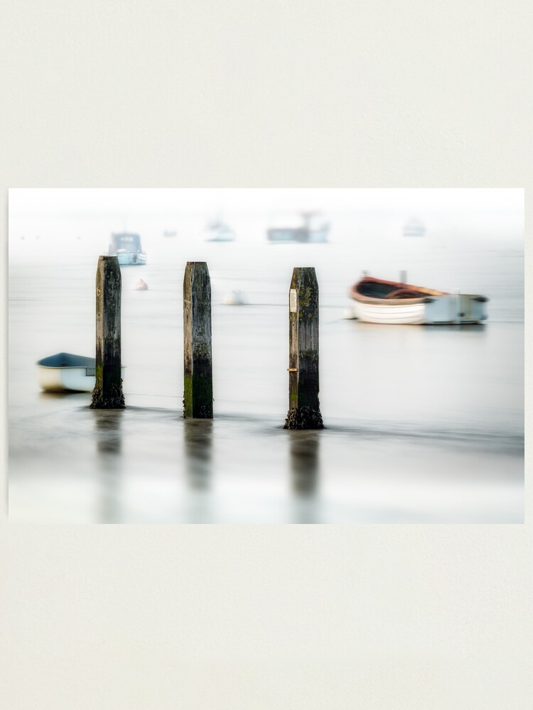 Alternate view of Three Posts Photographic Print