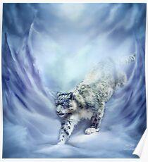 Snow Leopard - Snow Spirit Poster