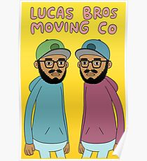 Lucas Bros Moving Co Poster
