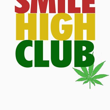 Smile High Club Shirt by lickquid