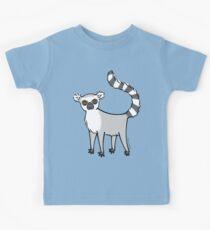 Ring Tailed Lemur Kids Tee