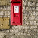 Vintage English post box by Greg  Walker