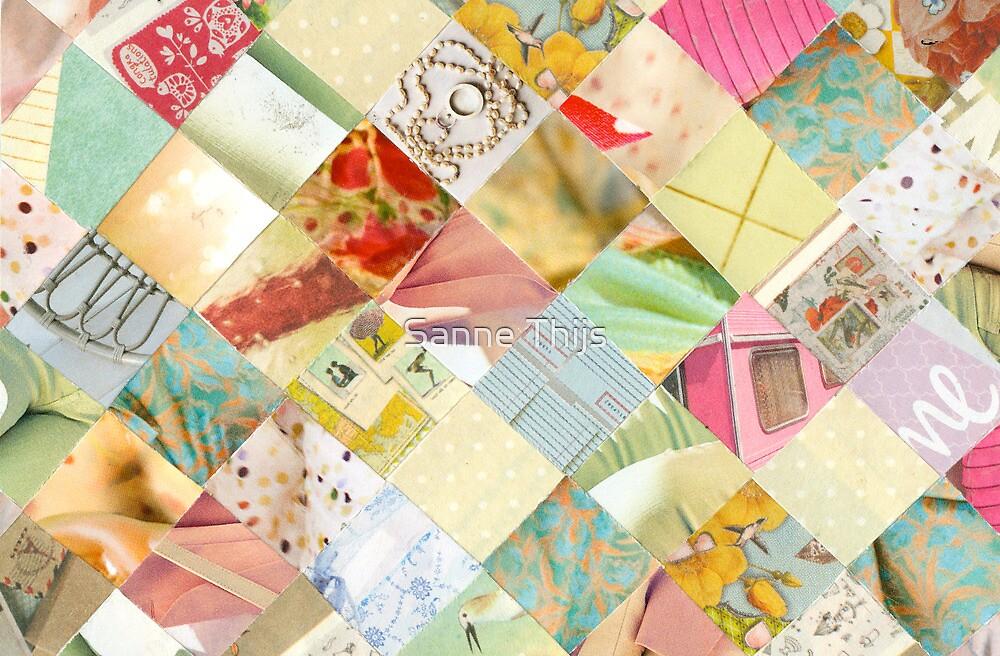 Collagecard: pastels by Sanne Thijs