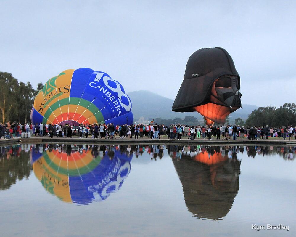 Canberra Balloon Fest  2013  no 2 by Kym Bradley