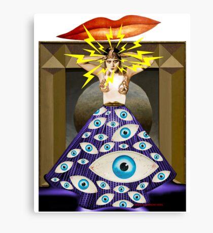 Theda da Canvas Print