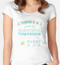 Beautiful Tomorrow Women's Fitted Scoop T-Shirt