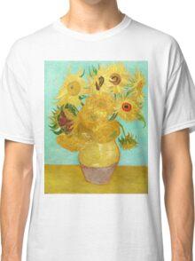 Van Gogh Sunflowers Classic T-Shirt