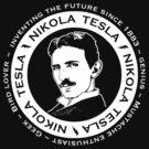 Nikola Tesla  by Brigid Ashwood
