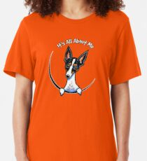 Rat Terrier :: Its All About Me Slim Fit T-Shirt