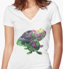 Vileplume used Sunny Day Women's Fitted V-Neck T-Shirt