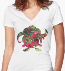Gloom used Petal Dance Women's Fitted V-Neck T-Shirt