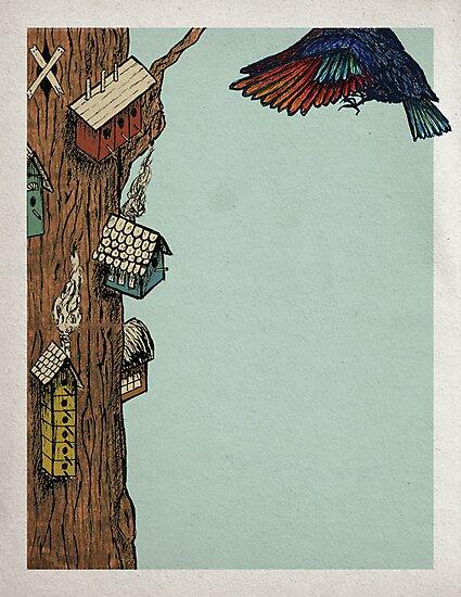 Bird House by ZachHoskin