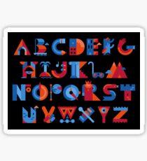 Alphabet Sticker