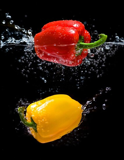 Pepper Splash by Andrew Bret Wallis