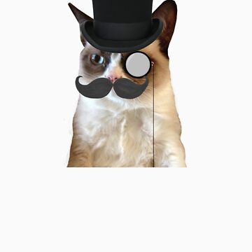 classy grumpy cat by coolioscooter