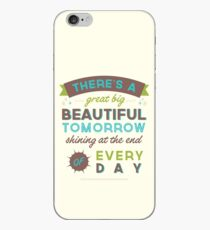 Beautiful Tomorrow (For light backgrounds) iPhone Case
