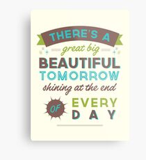 Beautiful Tomorrow (For light backgrounds) Metal Print