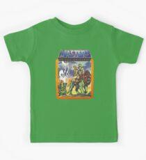 Camiseta para niños He-Man Masters of the Universe Battlecat y Teela